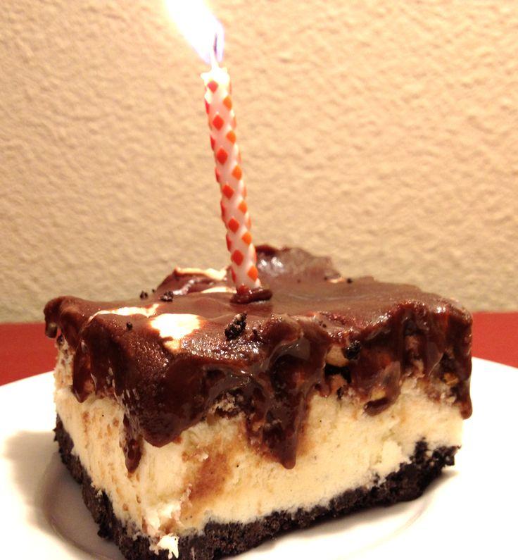 Fudgy Ice Cream Cake | Food I Make | Pinterest