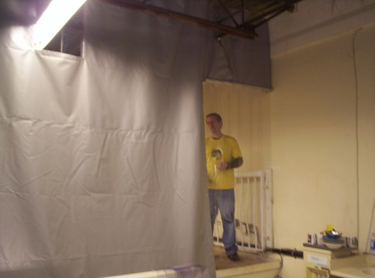 Herbal Health Install | Warehouse Curtains | Pinterest