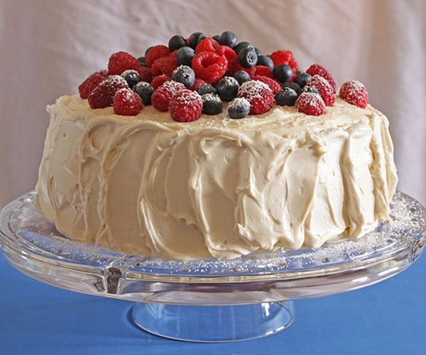 ... of July Desserts inc Red Velvet Cake with Blueberries & Raspberries