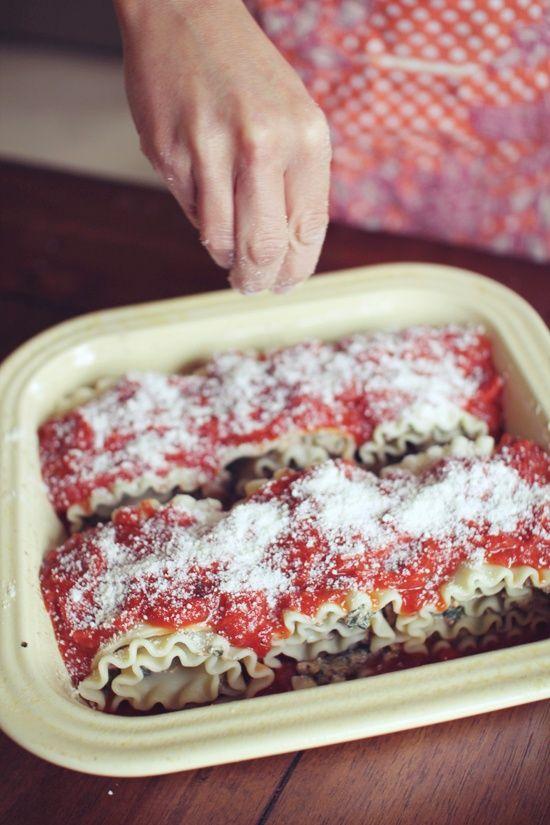Chicken Lasagna Roll Ups | Recipes | Pinterest