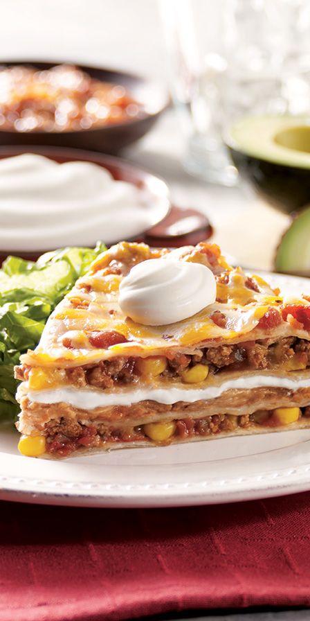 Tex-Mex Lasagna