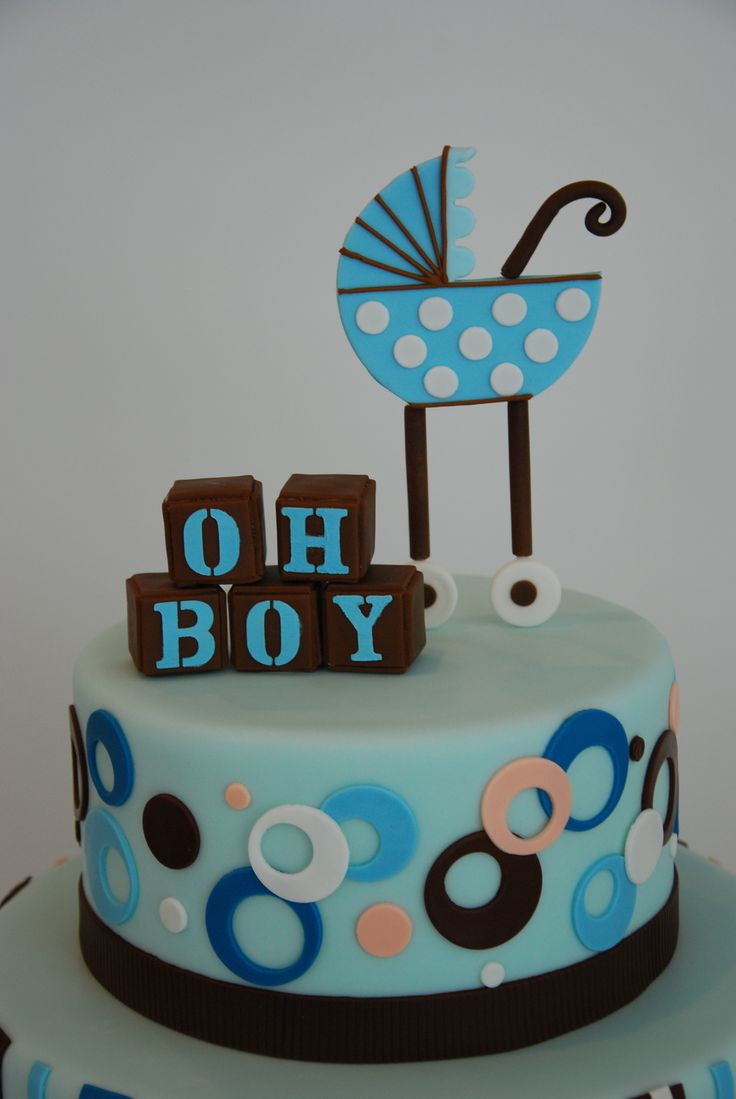 Oh boy baby shower cake cakes cake decorating pinterest for Baby boy cake decoration