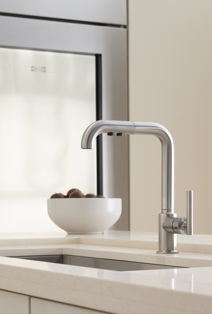 Kohler Purist : The Purist faucet by @Kohler Co. Quality Materials Pinterest