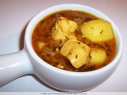 Chicken Curry with Potatoes | Indian Food ~ Recipes | Pinterest
