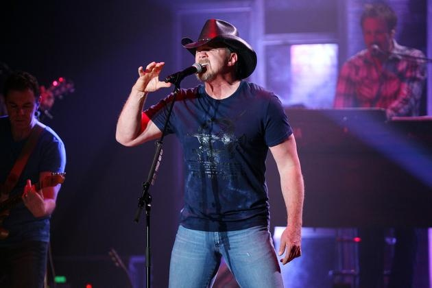 Country music star Trace Adkins rocks the Paramount Arts Center on Thursday, April 12, 2012, in Ashland.