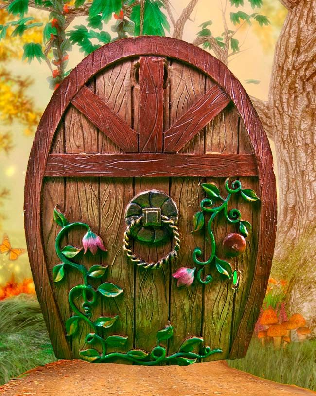 Fairy door for Miniature fairy garden doors