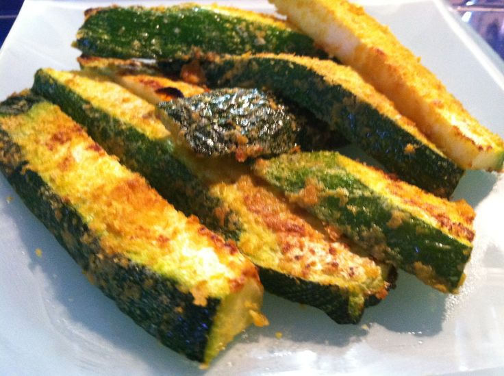 Broiled Zucchini with sesame oil, nutritional yeast, and Himalayan ...