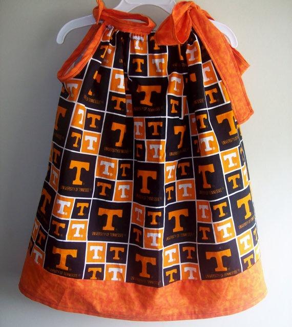 Tennessee Vols Pillowcase Dress