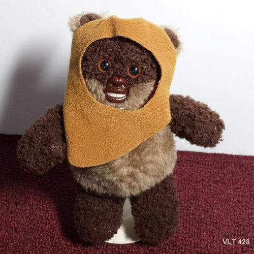 Star Wars Ewok Wicket Kenner Beanbag Buddies Stuffed Plush