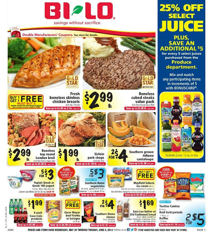Bi lo weekly deals Alaska airlines coupons 2018