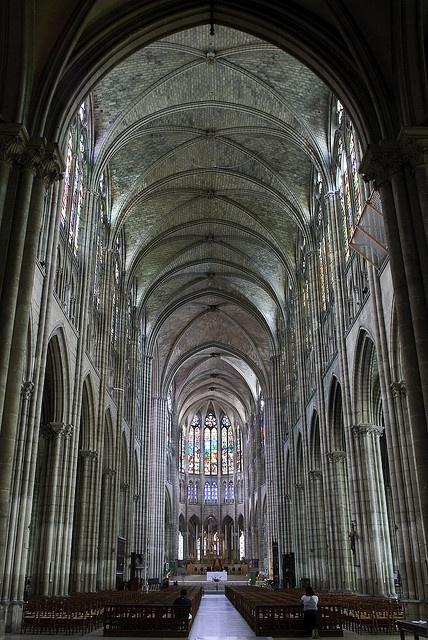 saint denis cathedral la belle france places i went pinterest. Black Bedroom Furniture Sets. Home Design Ideas