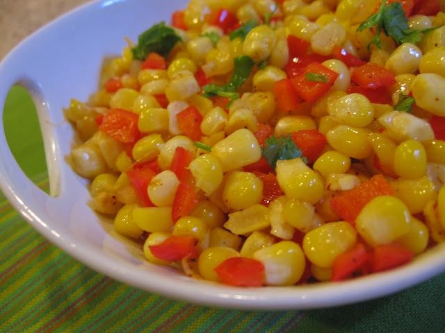 Corn and Red peppers | Favorite Recipes | Pinterest
