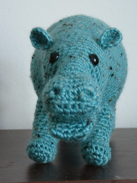 Crochet Pattern Free Hippo : Hippo Amigurumi Pattern ~ Free Crochet and knitting ...