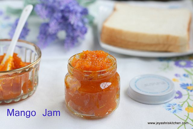 Mango And Cardamom Jam Recipe — Dishmaps