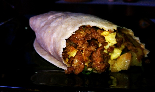 ... burrito with chorizo potato and egg chorizo and egg breakfast burritos