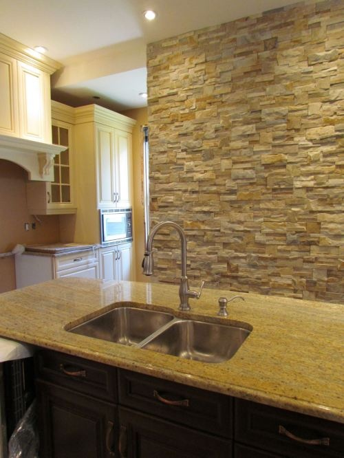 Feature wall kitchen buidling projects pinterest for Kitchen feature wall ideas