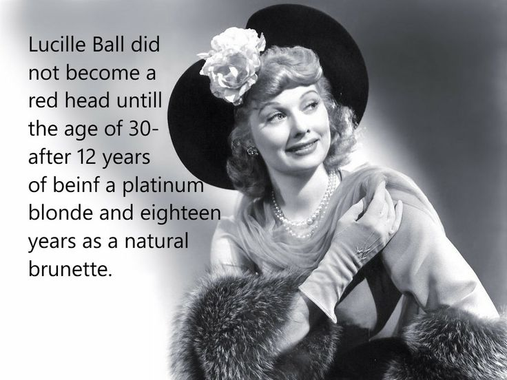 lucille ball show business amp celebrity fun facts pinterest