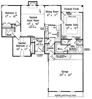 1800 Sq Ft House Plans With No Wasted Space on 4 Bedroom 3 Car Garage House Plans