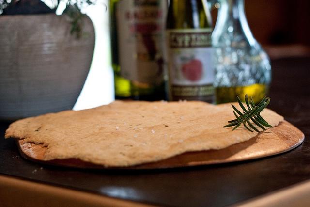Crisp Rosemary Flatbread by livvy_jane, via Flickr