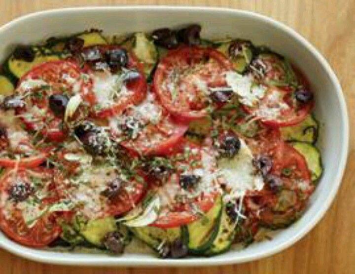 Zucchini tomato gratin   Looks so good I wanna eat   Pinterest