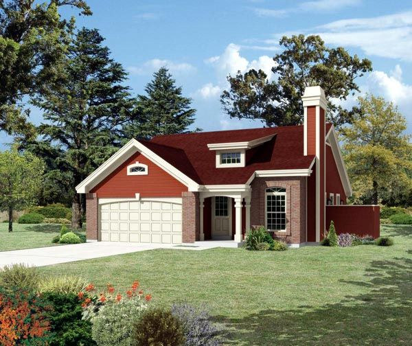 Disregard Colors O Country Ranch Traditional House Plan 95839