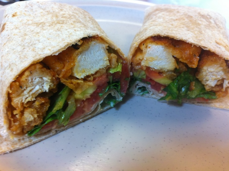 Buffalo Chicken Wrap | Food | Pinterest