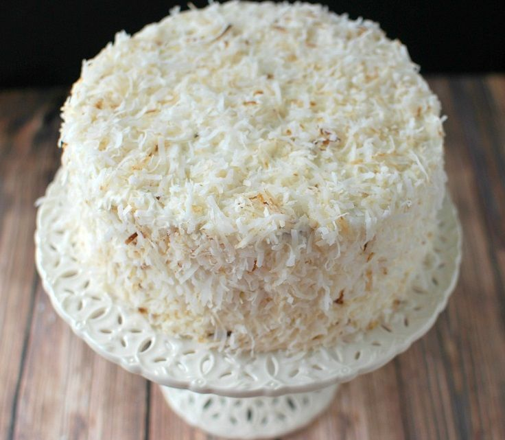 Toasted Coconut Cake | pâtisserie | Pinterest
