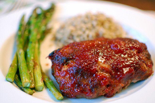 Individual Meatloaves   Food Pleasures   Pinterest