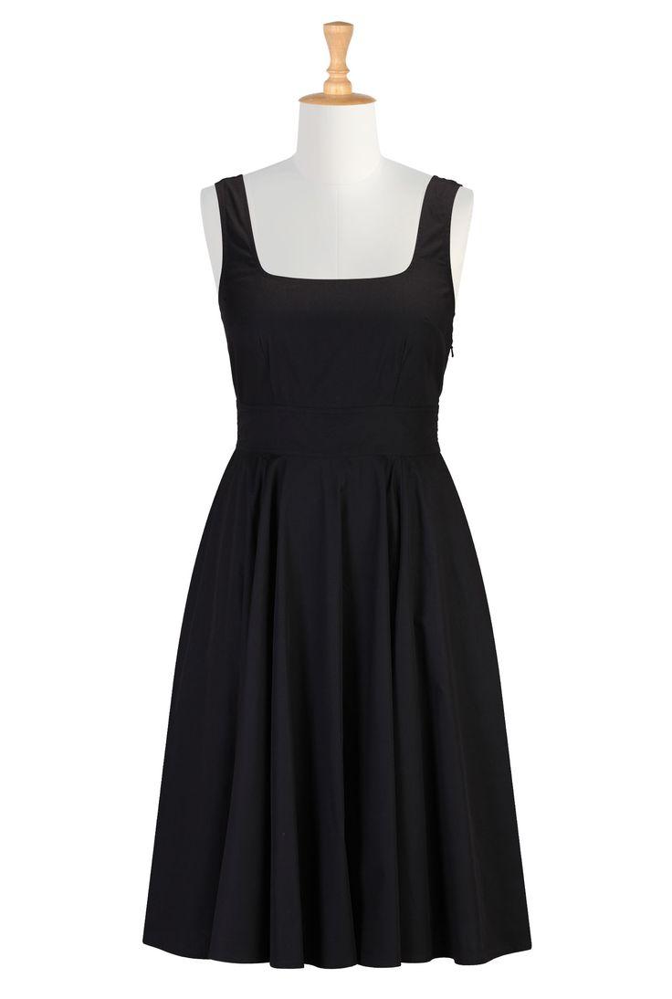 Pinned image of eShakti black dress