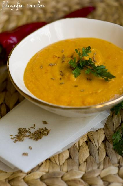 Spiced carrot & lentil soup   Asian cuisine   Pinterest