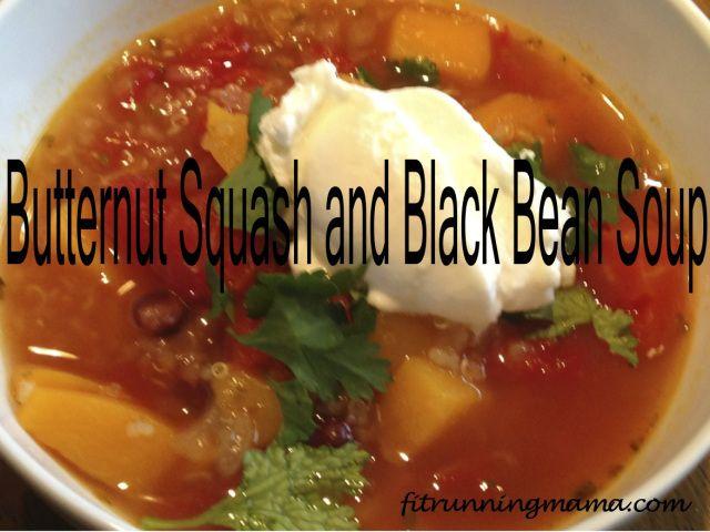 butternut squash and black bean soup | Favorite Recipes | Pinterest