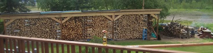 Plans for Building a Firewood Shed
