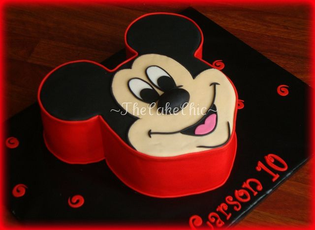 Minnie-Mickey cakes | Flickr - Photo Sharing!