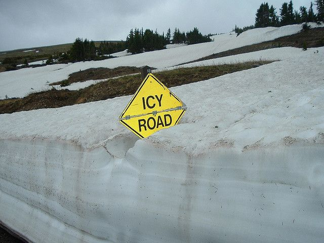 Road Sign Boards >> Icy Road | CaptainObvious | Pinterest