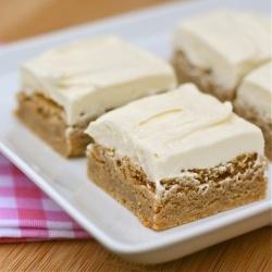 Cinnamon Blondies | Let them eat CAKE! | Pinterest
