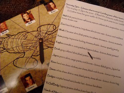 Firefly Serenity invitations