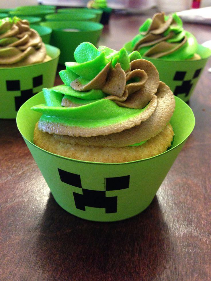 Minecraft Cupcakes | Jakemeister | Pinterest