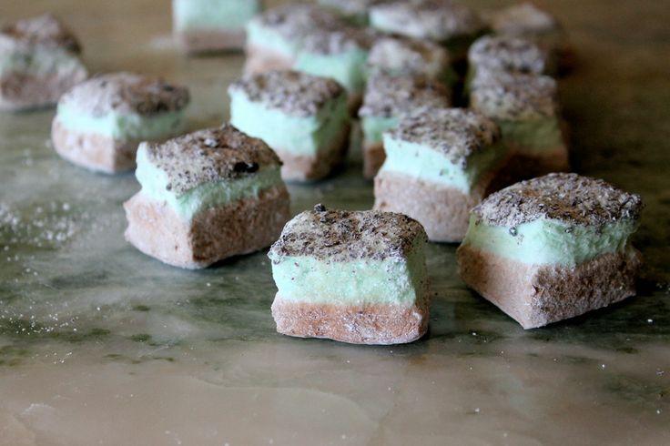DARK CHOCOLATE, CREME DE CACAO, CREME DE MENTHE Marshmallow! Mint ...
