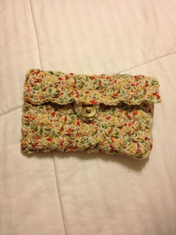 Crochet Clutch Purse : Crochet Clutch Purse on Etsy, $30.00 Like...would like one for my ...
