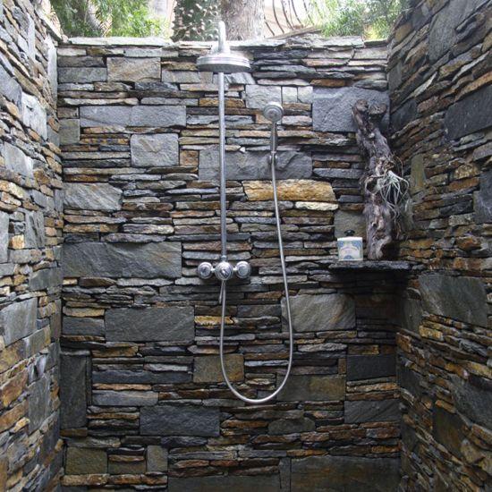 Outdoor shower is Great!