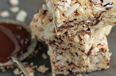 Chocolate-Coconut Rice Krispie Treats Recipes