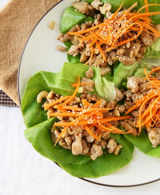 Cashew Chicken Lettuce Wraps | Ethnic Dishes | Pinterest
