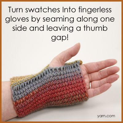 Tunisian Crochet: Simple Stitch, using your swatch - a tutorial on the ...