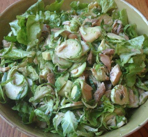 Hearty green autumn salad   food   Pinterest