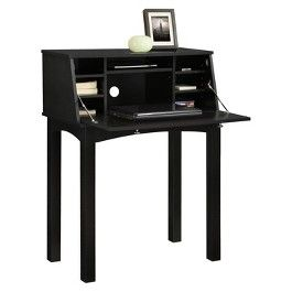 Parsons Secretary Desk - Black | Girls new bedroom inspiration | Pint