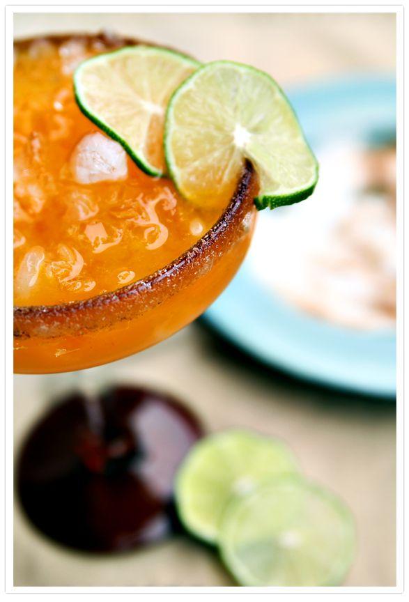 Persimmon Margarita | Flavors | Pinterest
