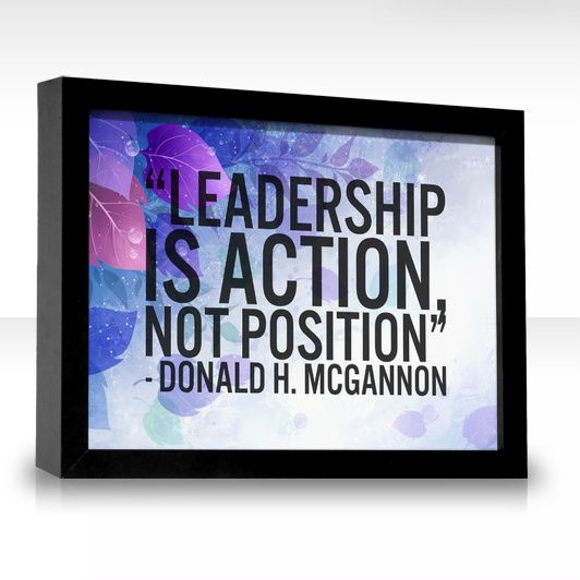 """leadership is action not position There are a lot of conducted studies on leadership but hughes, ginnett and curphy's research on the said topic focuses on leadership as an action and not a position - """"leadership is action, not position"""" introduction."""