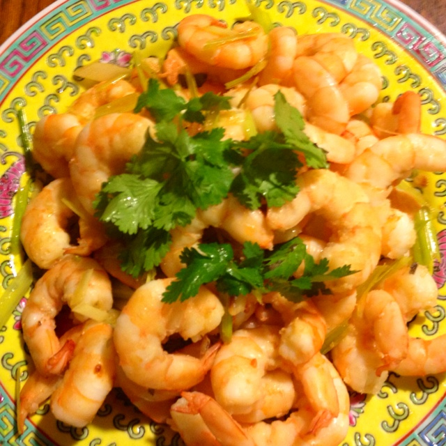 Lemongrass shrimp---came out great! Photo taken by: me www.nytimes.com ...