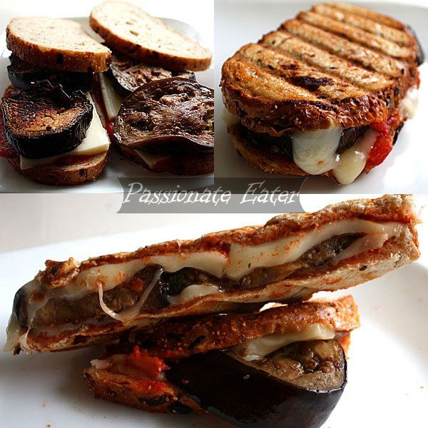 Mozzarella and Eggplant Panini This quick and satisfying eggplant and ...