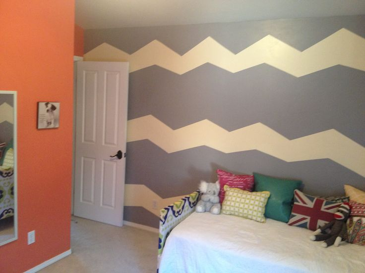 Chevron Teen Girl Room Teen Girl Room Pinterest